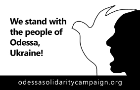 We stand with the people of Odessa, Ukraine!