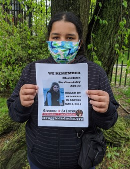 La Lucha Solidarity Photo - 5.2.20